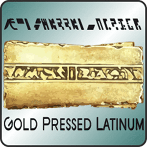 Gold Pressed Latinum live price